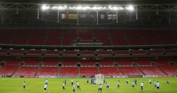 Football - France Training - Wembley Stadium, London, England - 16/11/15 General view during training Action Images via Reuters / Henry Browne Livepic EDITORIAL USE ONLY.